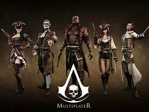 Assassin's Creed IV Black Flag multiplayer characters ...