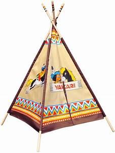 Tipi Indien Enfant : jouet tipi indien motifs yakari tente de jeu enfant knorrtoys ~ Melissatoandfro.com Idées de Décoration