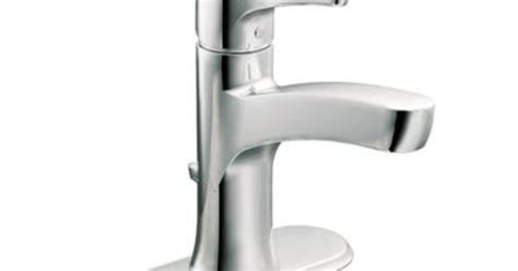 Home Depot Canada Moen Bathroom Faucets by Moen Danika One Handle Bathroom Faucet In Chrome Finish