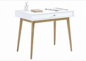 Bureau Scandinave Blanc : des petits bureaux pour un coin studieux joli place ~ Teatrodelosmanantiales.com Idées de Décoration