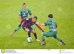 Alexis Sanchez Of FC Barcelona Editorial Photo Image
