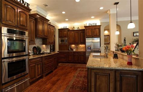Kitchens With Dark Cabinets And Wood Floors contemporary kitchen with stone tile amp undermount sink in