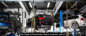Three Types Of Transmissions  Manual  Automatic  And Cvt