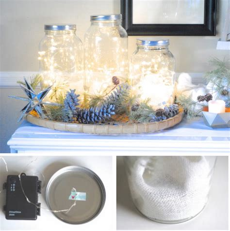 holiday decoration diy string light projects