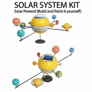 Solar Powered Solar System Kit