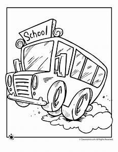 School Bus Coloring Page Printable - Coloring Home