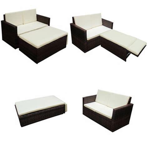 canape en resine tressee la boutique en ligne canapé de jardin système lit en