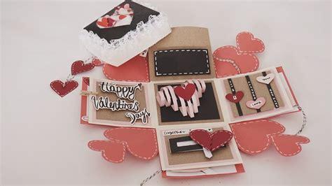 card     endless love valentine card handmade