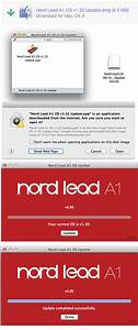 Nord Os Update Instructions
