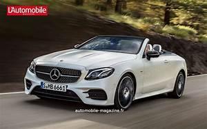 Mercedes Classe E Cabriolet 2017 : premi re gen ve pour la future mercedes classe e cabriolet l 39 automobile magazine ~ Medecine-chirurgie-esthetiques.com Avis de Voitures