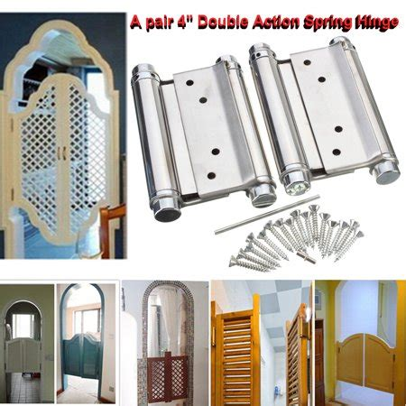 pair  double action spring hinge cafe saloon door