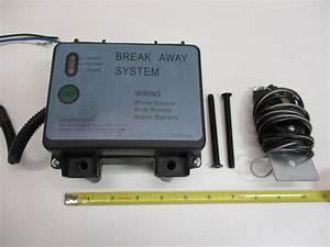 Camper Cargo Trailer Break Away Switch Safety Brake Kit