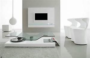 Table Basse Moderne : 15 exemples originaux pour la table de salon contemporaine ~ Melissatoandfro.com Idées de Décoration