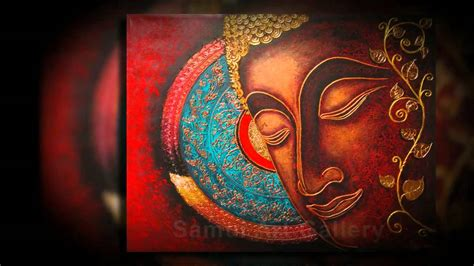 buddha paintings for gorgeous home decor