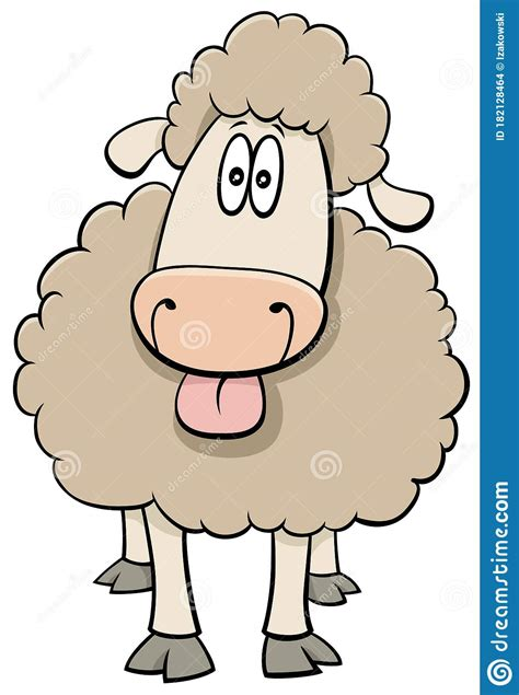 Download all photos and use them even for commercial projects. Funny Cartoon Sheep Farm Animal Character Stock Vector ...