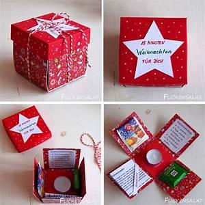 Kleine Geschenke Selber Machen : flickensalat 15 minuten weihnachten geschenk diy nice ~ Lizthompson.info Haus und Dekorationen