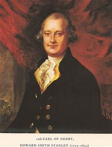 Edward Smith-Stanley, 12th Earl of Derby - Wikipedia  Lord