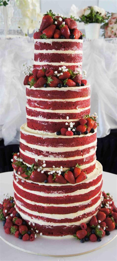 ruby wedding anniversary cake velvet cake