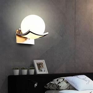 modern ball indoor wall lamp corridor living room lighting With lamp to light whole room