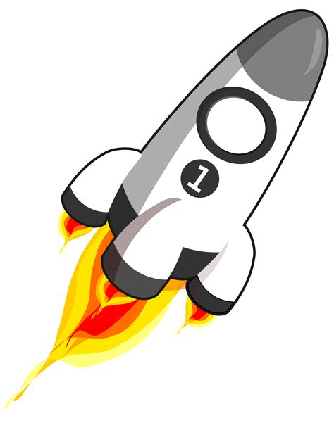 Rocket Clipart Rocket Clipart Black And White Clipart Panda Free