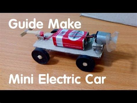 How To Make Electric Car by How To Make Mini Electric Car