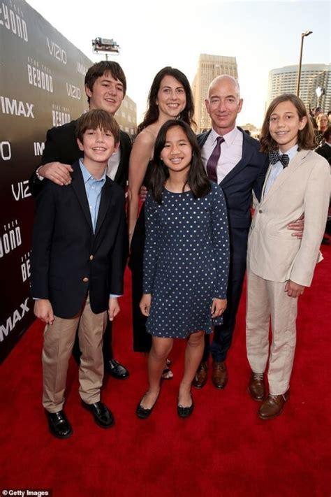 Jeff and Mackenzie Bezos Children