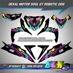 Jual Decal Stiker Motor Yamaha Mio Soul Gt 006 Di Lapak