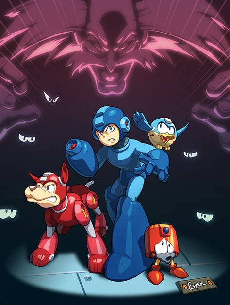 Mega Man Tribute By Espeng On Deviantart