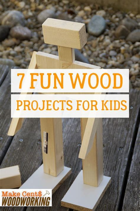 fun wood projects  kids woodworking projects