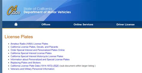 California Licence Plate Search by California License Plate Lookup World Of Exle