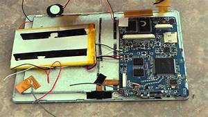 Disassemble Of A Allwinner A13  Q88 7 Inch Tablet And