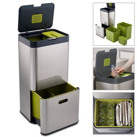 poubelle cuisine 60l poubelle de tri selectif cuisine dootdadoo com idées
