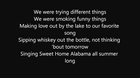 All Summer Long (lyrics)