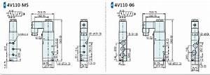 4vseries Solenoid Valve Air Control System Airtac 4v110