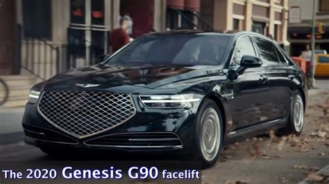 Hyundai Genesis G90 2020 by The 2020 Genesis G90 Facelift Every Feature Explained