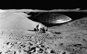 Dome on the moon, as seen in this Recently released image ...