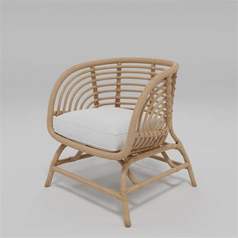 Ikea Rattan Stuhl by 3d Ikea Buskbu Rattan Chair Turbosquid 1396071