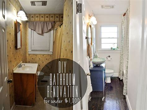 diy bathroom renovation