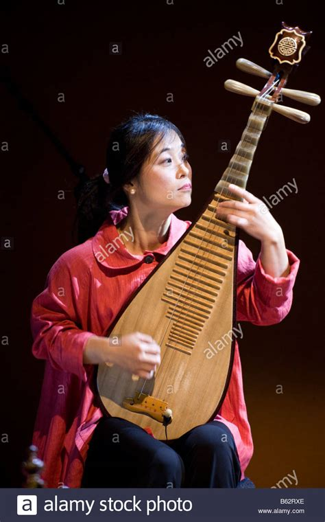 Wu Man, Musician Of The Silk Road Ensemble, Performing On