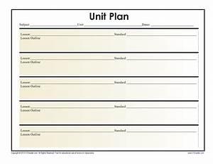 39, Best, Unit, Plan, Templates, Word, Pdf, U1405, Templatelab
