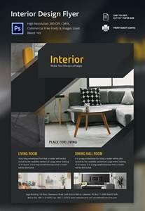 flyer designer interior design brochure 25 free psd eps indesign format free premium templates