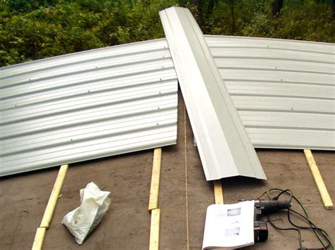 mobile home roof repair best 25 metal roof installation ideas on pinterest