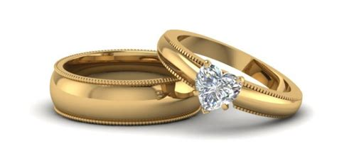 Gold Wedding Rings For Couples