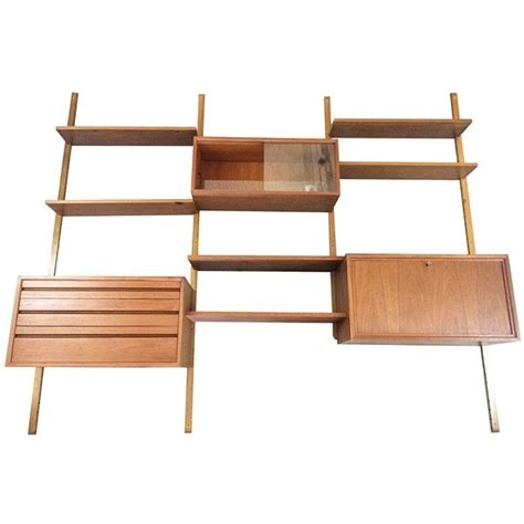 royal system wall unit by poul cadovius for royal system shelving system wall unit by poul cadovius for royal