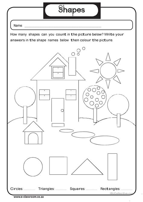 esl worksheets kindergarten esl best free printable