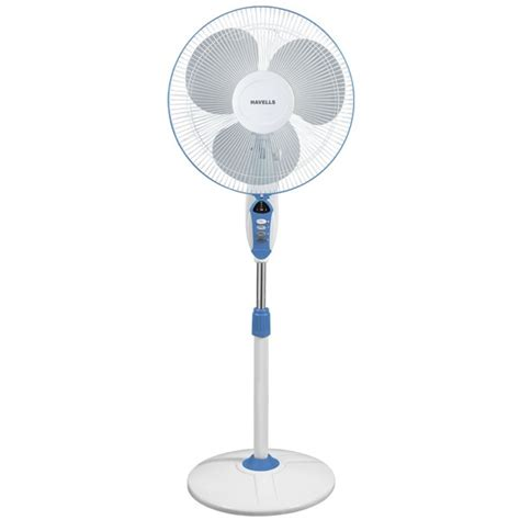 industrial pedestal fans for sale buy havells sprint led 16 quot blue pedestal fan online at low