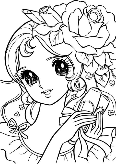 Aeromachia Girl Flower Hair Coloring Pages Also see the