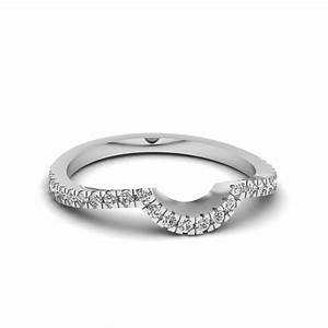 2018 Popular Curved Wedding Bands For Women