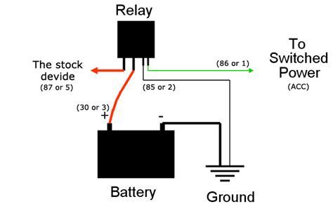 fan light kit diagram for led daytime running lights finding acc 12v power