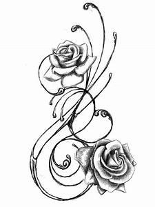 Lilie Symbolische Bedeutung : blumenranken tattoo 20 sch ne vorlagen f r diverse k rperstellen ~ Frokenaadalensverden.com Haus und Dekorationen